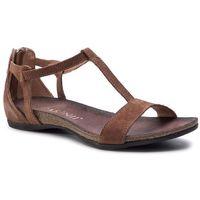 Sandały CARINII - B3779/NS J50-000-000-B02, kolor brązowy