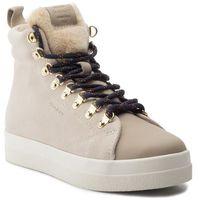Sneakersy - aurora 19541866 putty cream beige g27 marki Gant