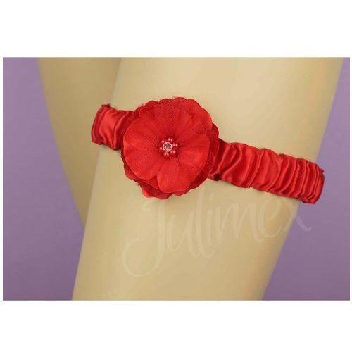 Podwiązka Julimex PW 76 Toledo uniwersalny, czerwony. Julimex, uniwersalny, kolor czerwony