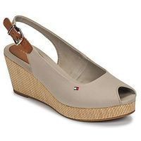 Sandały Tommy Hilfiger ICONIC ELBA SLING BACK WEDGE