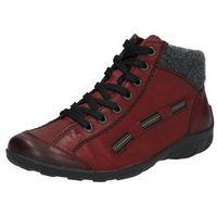 buty sznurowane 'l6543' ciemnoszary / czerwony marki Rieker