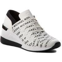 Sneakersy MICHAEL MICHAEL KORS - Cydney Trainer 43T8CYFS1D Opticwht/Blk, kolor biały