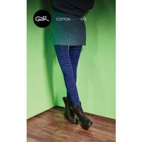 Rajstopy wzorzyste bawełniane cotton trendy wz.03 marki Gatta