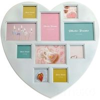 Ramka serce na 10 zdjęć - galeria marki Emako