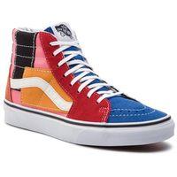 Sneakersy VANS - Sk8-Hi VN0A38GEVMF1 (Patchwork) Multi/True Wh, kolor wielokolorowy