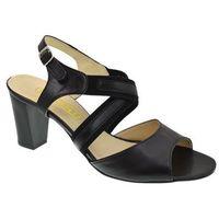 Sandały Ravini 943 czarny, w 4 rozmiarach