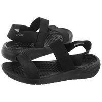 Sandały Crocs Literide Sandal W Black 205106-060 (CR169-a), kolor czarny