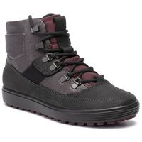 Botki ECCO - Soft 7 Tred W 45027351532 Black/Fig