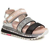 Sandały LIU JO - Wonder Maxi 07 BXX069 TX115 Silver/Pink S10S1, w 4 rozmiarach