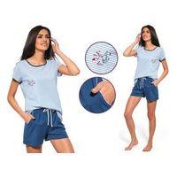 Piżama damska marita: niebieski marki Cornette
