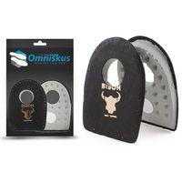 Podpiętki na ostrogi skórzane - lateksowe - podpiętki do butów marki Omniskus