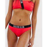 Calvin Klein logo band bikini bottoms - Pink, bikini