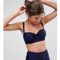 fuller bust bustier bikini top dd - g cup - black marki Peek & beau