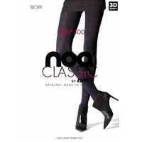 Rajstopy noq bjork 3d 300 den rozmiar: 2-s, kolor: czarny/nero, knittex, Knittex