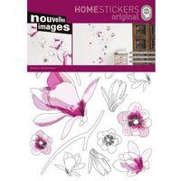 Nouvelles images Naklejka ścienna flowers host220