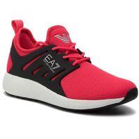 Sneakersy - x8x024 xcc06 00035 red fluo, Ea7 emporio armani