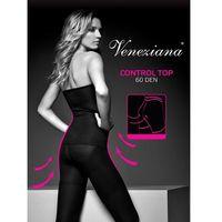 Rajstopy Veneziana Control Top 60 den 2-S, czarny/nero. Veneziana, 2-S, 3-M, 4-L