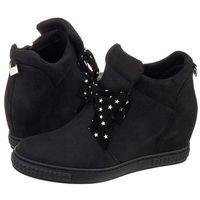 Sneakersy czarne b1073/claudia 218 (ch34-b), Chebello, 36-40