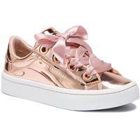 Skechers Sneakersy - liquid bling 958/rsgd rose gold