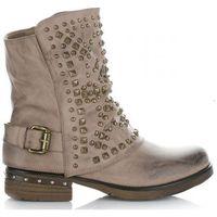 Botki damskie firmy khaki marki Crystal shoes