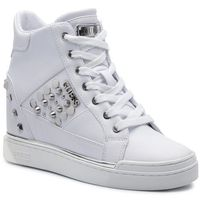 Guess Sneakersy - feelixi fl7flx ele12 white