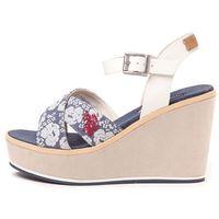 U.S. POLO ASSN. sandały damskie Rosy Flowers 40 niebieski, kolor niebieski