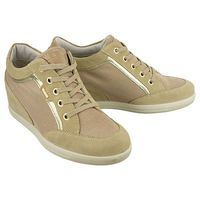 IGI&CO 7783 3/00 DPHGT beige/beige, półbuty (sneakersy) damskie, kolor beżowy