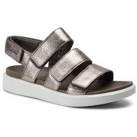 Sandały ECCO - Flowt W 27363354893 Warm Grey Metallic