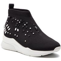 Sneakersy - karlie 15 elastick sock b19011 tx022 black 22222 marki Liu jo