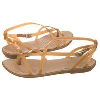 Sandały Crocs Isabella Gladiator Sandal W Dark Gold 204914-276 (CR144-a), 204914-276