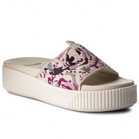 Klapki PUMA - Platform Slide Digtl Emb Wns 367287 01 Whisper White/Silver/Purple