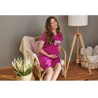Koszula nocna ciążowa i do karmienia happy mommy - fuchsia, Dn - doctor nap