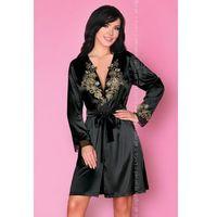 natasha lc 90367 noire rose collection szlafrok marki Livco corsetti fashion
