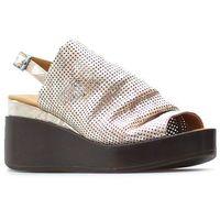 Sandały 501090 pow-go różowe, Venezia