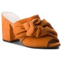 Klapki PETER KAISER - Anilia 09119/130 Santana Suede, kolor pomarańczowy