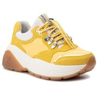 Sneakersy BRONX - 66255-CP Light Yellow 52, kolor żółty