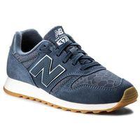 Sneakersy NEW BALANCE - WL373NVW Niebieski, kolor niebieski