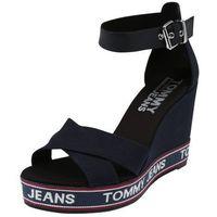 Tommy Jeans Sandały z rzemykami 'LUNA' niebieska noc, w 7 rozmiarach