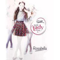 Rajstopy rosabella 60 den rozmiar: 128-134, kolor: bordowy/marsala, gatta, Gatta