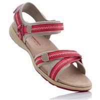 Sandały czerwono-beżowy marki Bonprix