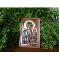 Veronese Obraz - ikona matka boska częstochowska - (wu76612a4)