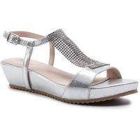 Sandały MENBUR - 20339 Silver 0009, kolor szary