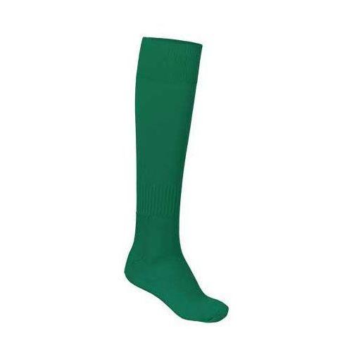 Skarpety sportowe podkolanówki getry piłkarskie VALENTO KRAMER zielony-kellygreen 43-46, kolor zielony