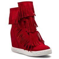 Sneakersy R.POLAŃSKI - 0818 Czerwony, w 3 rozmiarach