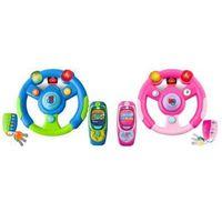 Zestaw: wielofunkcyjna kierownica + telefon gsm + kluczyk/pilot (w 2 kolorach do wyboru). marki Sti ltd.