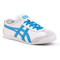 Asics Sneakersy - mexico 66 1183a201 cream/dolphin blue 105