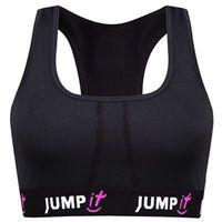 JUMPit - Stanik sportowy czarny - S