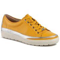 Sneakersy CAPRICE - 9-23654-24 Yellow Nappa 605
