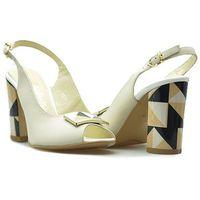 Sandały 1286 ecri071/białe, Chebello