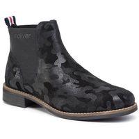 Sztyblety - 5-25318-23 black camoufl. 014 marki S.oliver